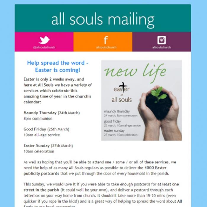 newsletter easter